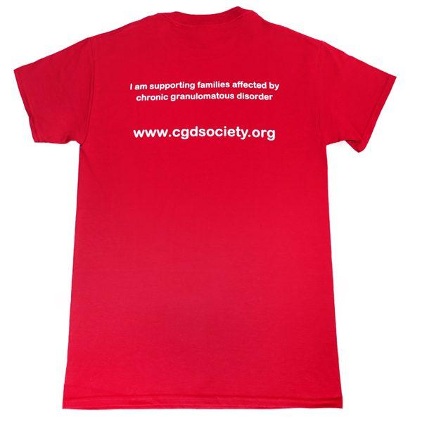CGDS Society T-Shirt Rear